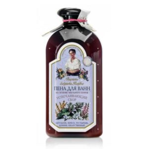 Пена для ванн Рецепты бабушки Агафьи Успокаивающий сбор (500 мл)