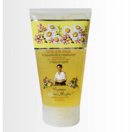Гель для лица очищающий «Ромашковое умывание» для жирной кожи