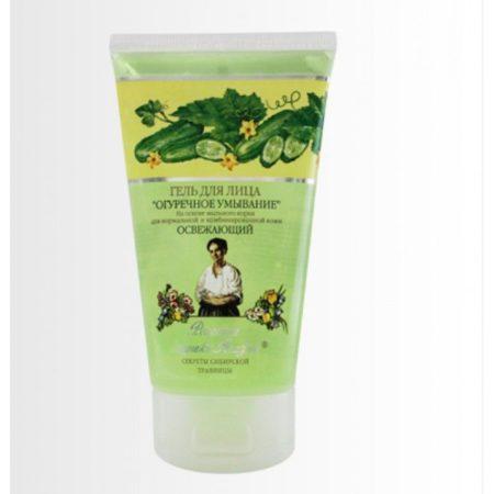 Гель для лица освежающий «Огуречное умывание» для нормальной и комбинированной кожи