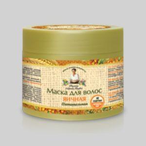 Маска для волос Яичная питательная для всех типов волос Новая активная формула