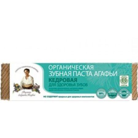 Органическая зубная паста Агафьи «Кедровая» для здоровья зубов