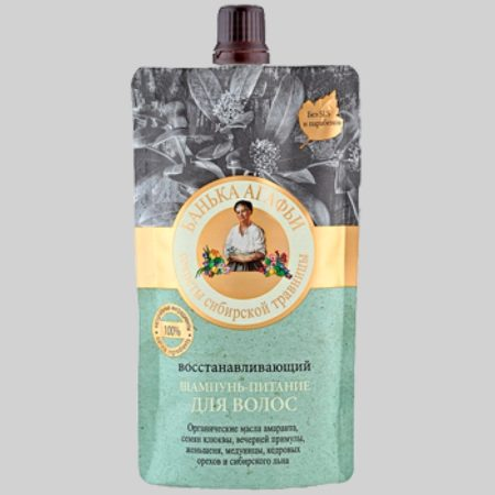 Восстанавливающий шампунь-питание для волос Банька Агафьи