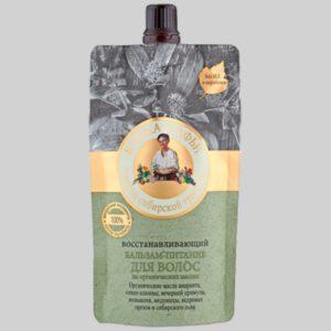 Восстанавливающий бальзам-питание для волос Банька Агафьи