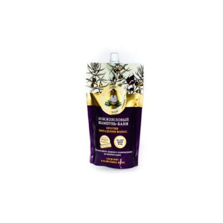 Можжевеловый шампунь-баня Против выпадения волос Рецепты бабушки Агафьи на 5 соках