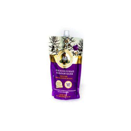Можжевеловый бальзам-баня Против выпадения волос Рецепты бабушки Агафьи на 5 соках