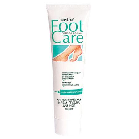 Крем для ног FOOT CARE (крем-пудра антисептическая)100мл.
