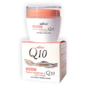 Q10 Крем-энергия дневной для лица 50мл.