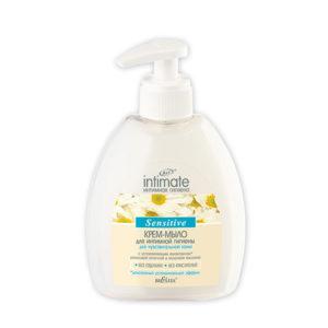 Интим Крем-мыло для чувстельной кожи 300мл.