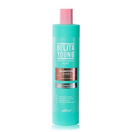 Belita Young Шампунь для волос Блеск и сила 400мл.