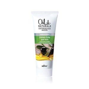 OIL Скраб-гель для тела с маслами ОЛИВЫ и КОСТОЧЕК ВИНОГРАДА  Ровная кожа  200мл.
