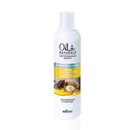 OIL Пенка для умывания лица с маслами АРГАНЫ И ЖОЖОБА для нормальной кожи 250