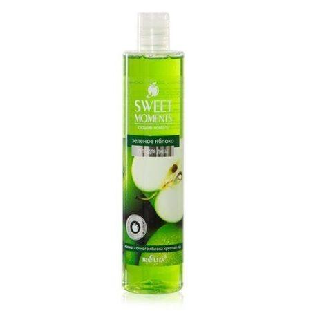 Sweet moments Гель для душа Зеленое Яблоко 345мл.