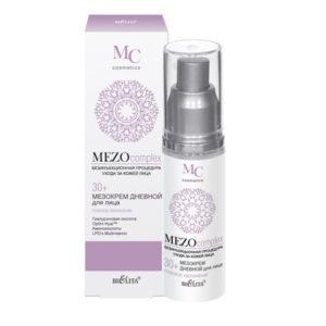 MEZOcomplex Мезокрем дневной для лица 30+ Глубокое увлажнение 50мл.