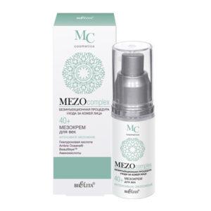 MEZOcomplex Мезокрем для век 40+ Интенсивное омоложение 30мл.