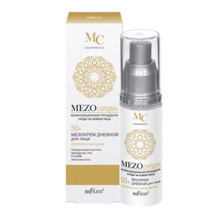 MEZOcomplex Мезокрем дневной для лица 50+ Комплексное омоложение 50мл.