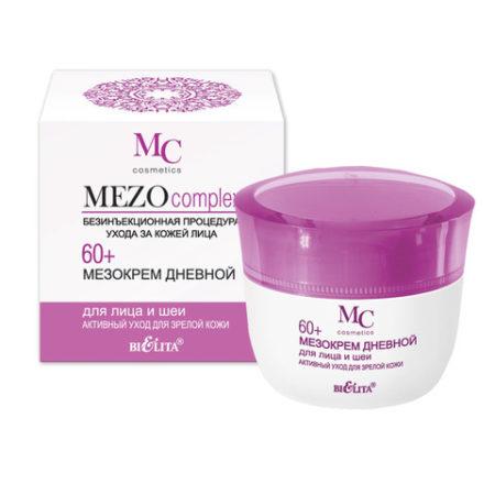 MEZOcomplex Мезокрем дневной для лица 60+ Активный уход для зрелой кожи 50мл.