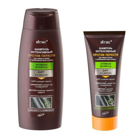 ПРОТИВ ПЕРХОТИ Шампунь интенсивный для жирных волос и проблемной кожи головы 400мл.