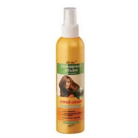 Шикарный ОБЪЕМ Спрей-объем  протеиновый для всех типов волос 200мл.