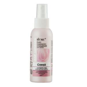 Курс глубокого очищения Спрей контроль над жирностью волос 100мл.