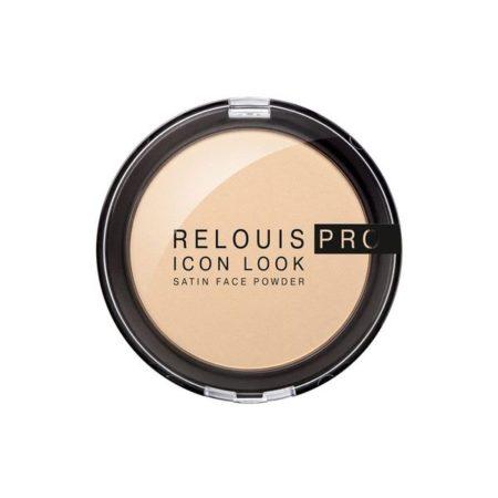 Relouis pro icon look satin face powder Пудра компактная 1