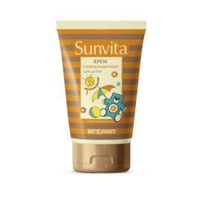 SUNVITA Крем солнцезащитный для детей SPF 25 120г
