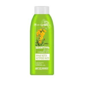 ОТ ПРИРОДЫ Шампунь для сухих и секущихся волос Яичный желток и Кастроое масло 500г