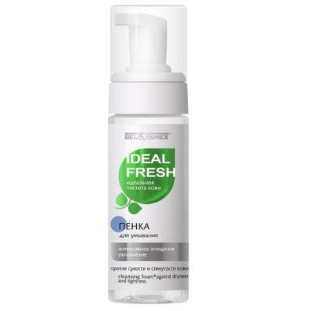 IDEAL FRESH Пенка для умывания интенсивное очищение увлажнение против стянутости 150г