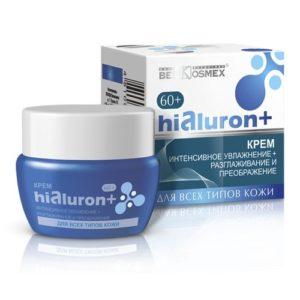 Hialuron Крем интенсивное увлажнение + разглаживание и преображение 60+ 48г