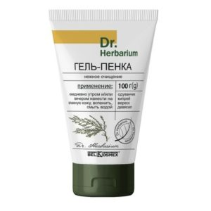 Dr.Herbarium Гель-пенка нежное очищение 100г