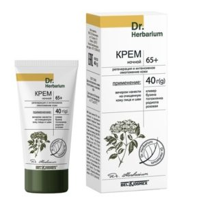 Dr.Herbarium Крем ночной 65+ регенерация и интенсивное омоложение кожи 40г