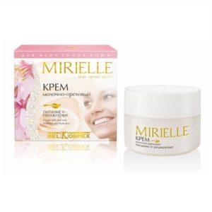 MIRIELLE Крем молочно-ореховый питание и увлажнение 48г