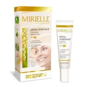 MIRIELLE Крем-лифтинг для кожи вокруг глаз с рисовыми отрубями 15г