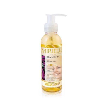 MIRIELLE Гель-пенка для жирной кожи мягко-очищающая