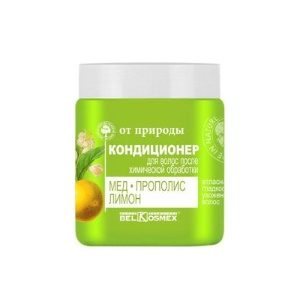 ОТ ПРИРОДЫ Кондиционер для волос после химической обработки Мед Прополис и Лимон