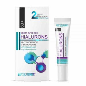 Hialurons Крем для век 60+ интенсивное увлажнение и сокращение глубоких морщин