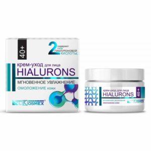 Hialurons Крем-уход для лица 40+ мгновенное увлажнение и омоложение кожи