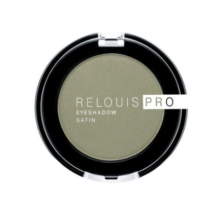 Relouis PRO eyeshadow SATIN Тени для век 35 GREEN TEA