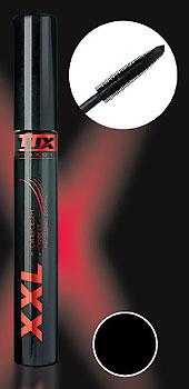 """Тушь для ресниц LUX visage XXL """"Суперобъем - эффект накладных ресниц"""", черная"""