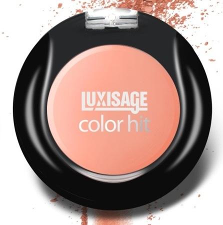 Румяна компактные LUXVISAGE тон 17 Оранжево-розовый